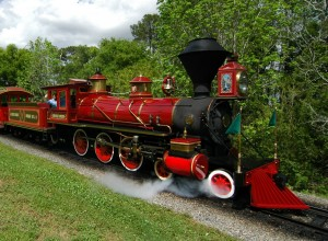 A train is not good for resort to resort transportation at Disney World