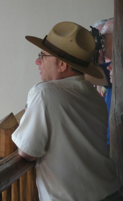 Our tour guide Ranger!