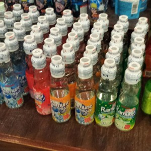 Ramune soda, near the epcot snacks in japan