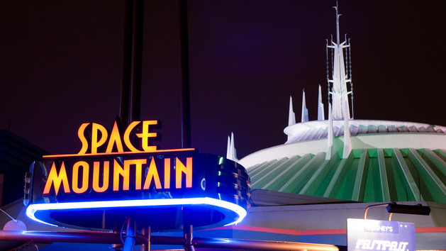 Space Mountain at Disney's Magic Kingdom