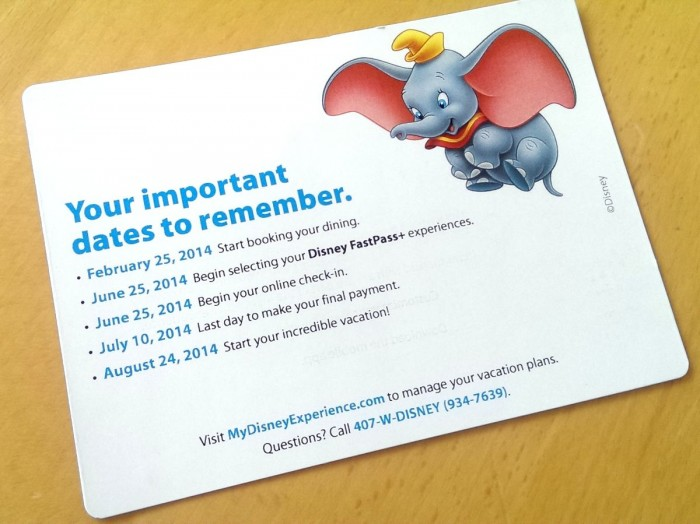 Disney Important Date Magnet