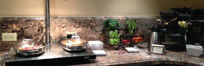 Dinner food at Stone Harbor Club