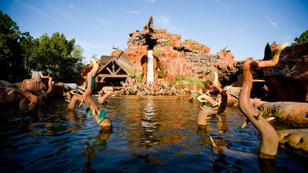 Splash Mountain at Disney's Magic Kingdom