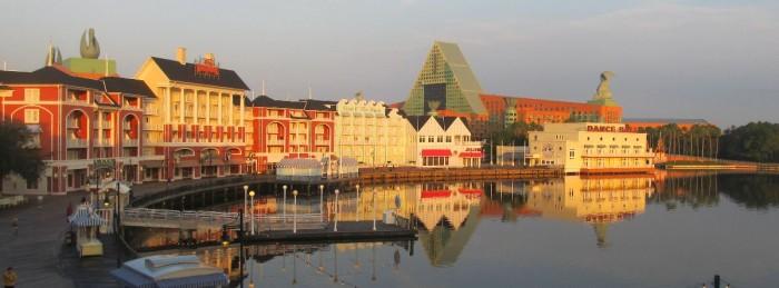 BoardWalk sunrise Disney World