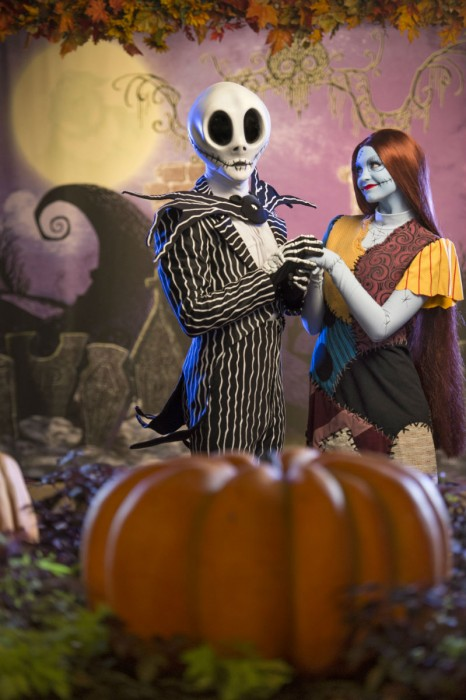 Meet Jack & Sally in Town Square for the 2014 MNSSHP.