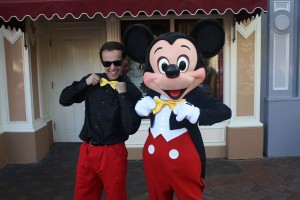 Here is Brain DisneyBounding as Mickey Mouse.