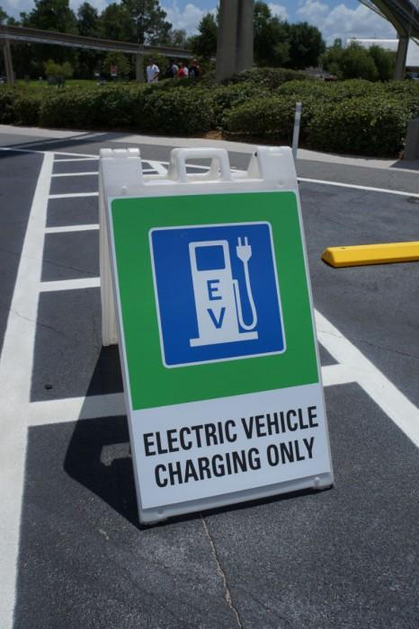 EV Signage at Epcot
