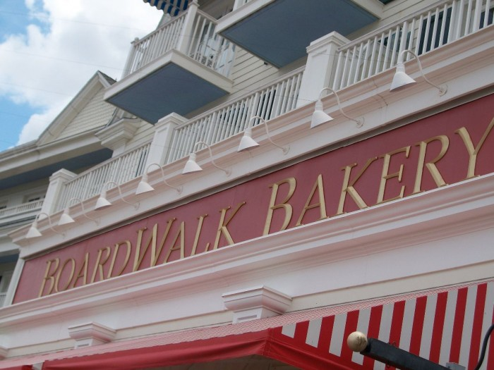Boardwalk Bakery - A Glass Slipper Vacation