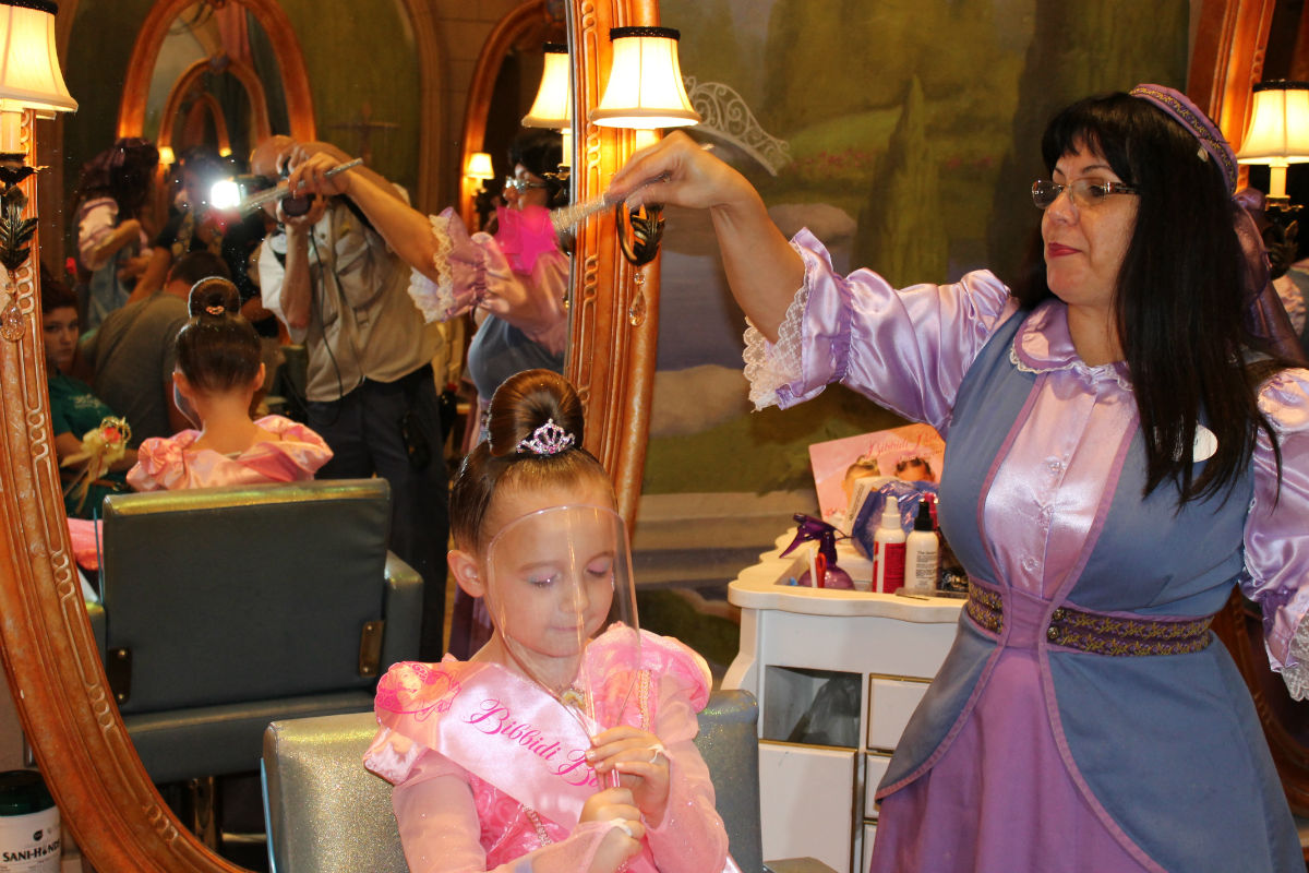 Disney world bibbidi bobbidi boutique for World boutique