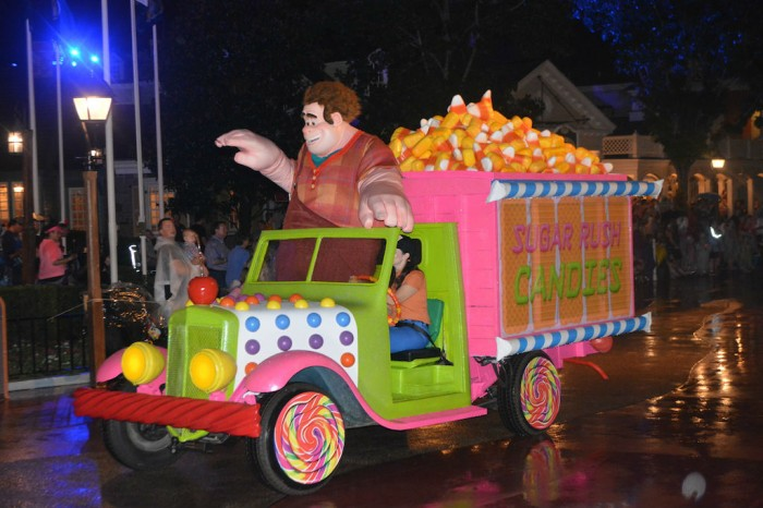 Wreck-It Ralph at Mickey's Not-So-Scary Halloween Party