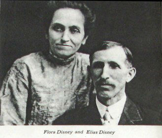 Walt's parents:  Elias & Flora.  Courtesy of Yesterland