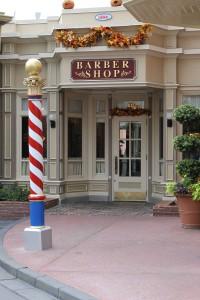 Harmony Barber Shop on Main Street, U.S.A.