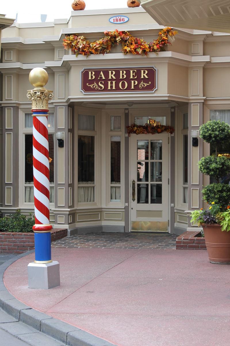 Disney World?s Harmony Barber Shop  A Magical First Haircut
