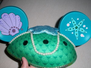 Little Mermaid Mouse Ears