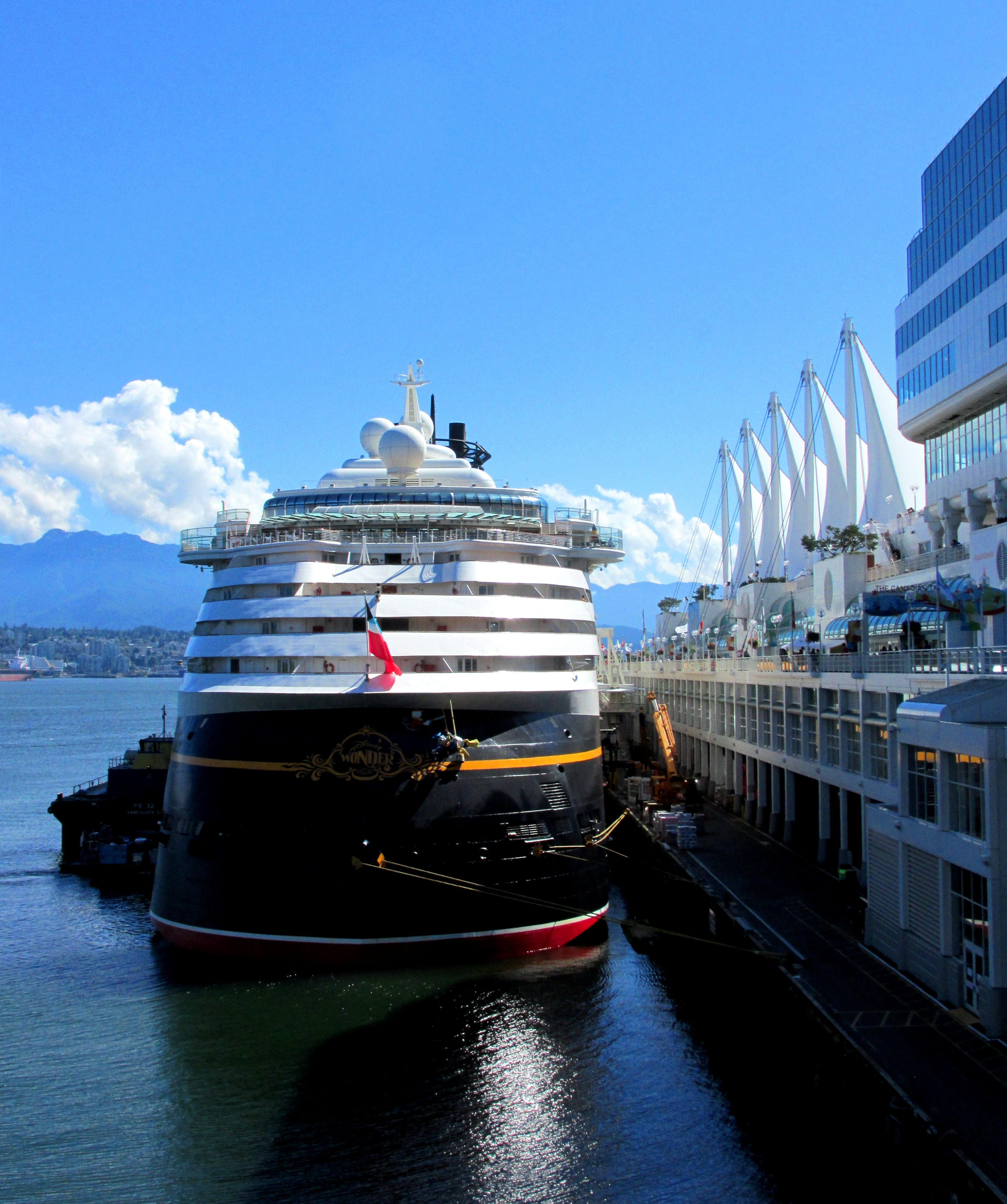 Canada Place Vancouver Cruise Terminal Basics