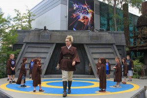 Jedi Training Academy (photos by Sarah Graffam)
