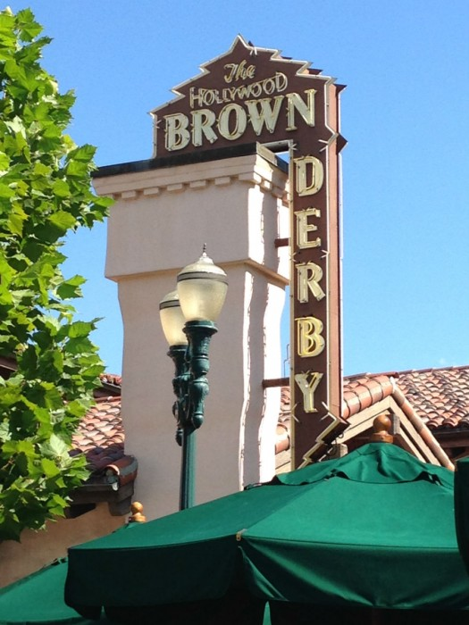 The famous Brown Derby at Hollywood Studios.