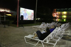 Toy Story 3 poolside at All Star Music. (Not shown: me crying hysterically in the back row.)