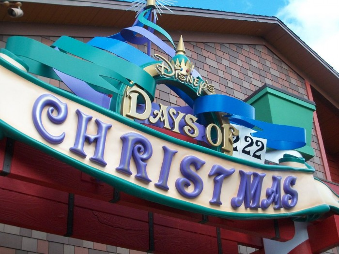 Downtown Disney's Days of Christmas Store