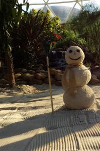 Snowman in the Land