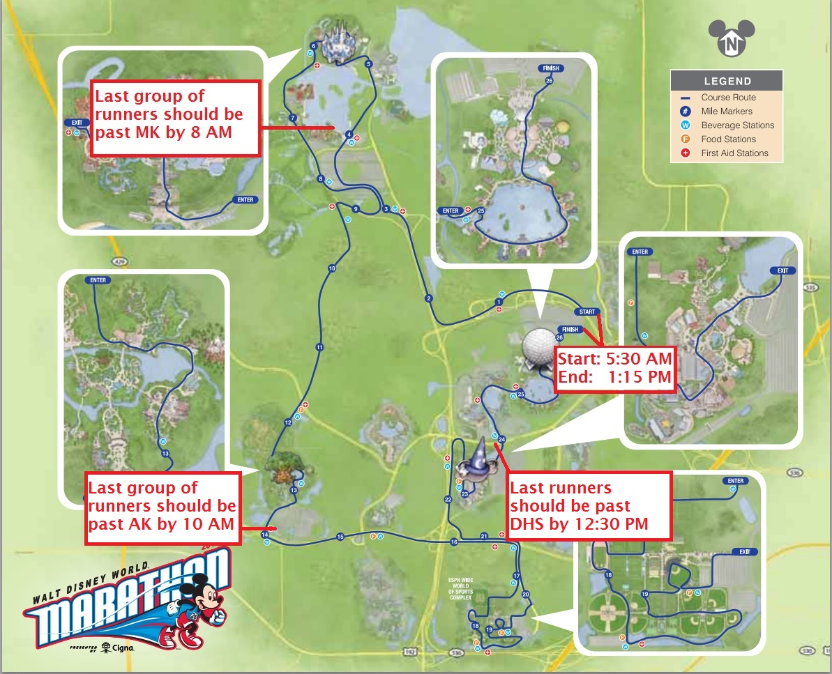 How Next Week's Disney Marathon Will Affect Park Crowds   TouringPlans ...