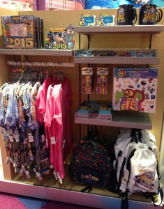 Large displays of 2015 merchandise are popping up everywhere. (Photo by Julia Mascardo)