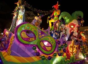 Mardi Gras at Universal. ©Universal