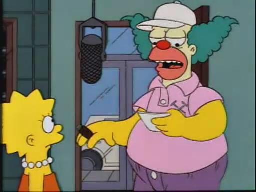 Inaugural 2015 theme park awards aka the burgys - Clown simpson ...