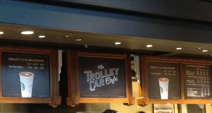 The Trolley Car Cafe is now in soft opening. (Photo by Julia Mascardo)
