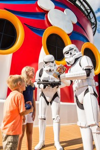 A definitely not Photoshopped image of what to expect at Star Wars Day. ©Disney