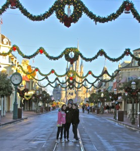 Even Christmas can be manageable for an introvert, IF you arrive at the parks early.