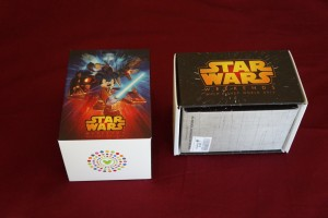 The limited-edition MagicBands come in special Star Wars Weekends packaging. (Photo by Julia Mascardo)