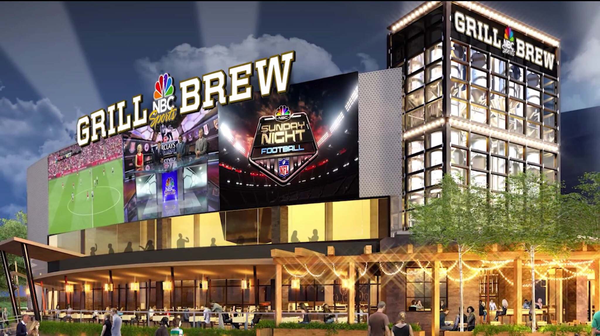 NBC Sports Grill & Brew Citywalk