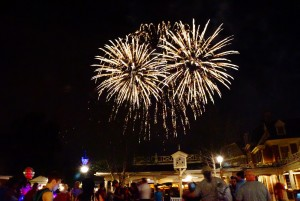 It's a salute to all fireworks displays, but mostly Wishes at Liberty Square. (Photo by Julia Mascardo)
