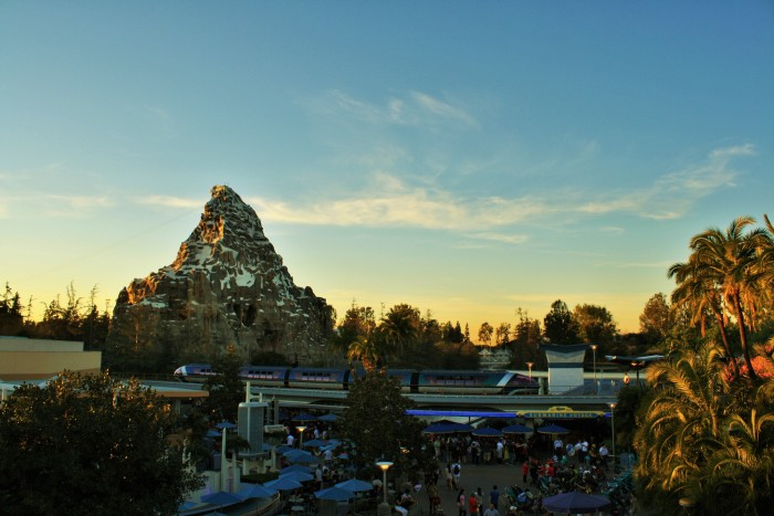 Disneyland Sunset