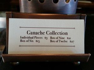 Ganachery prices.
