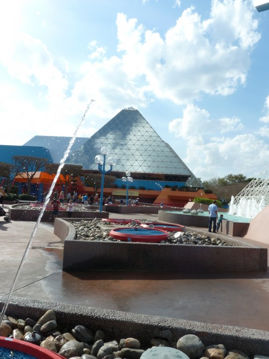 DVC members will be able to relax upstairs in Epcot's Imagination Pavilion.