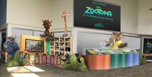 Zootopia exhibit at Disney's Animal Kingdom