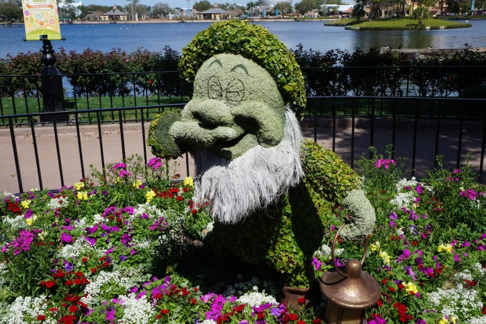 A topiary representation of me in spring.