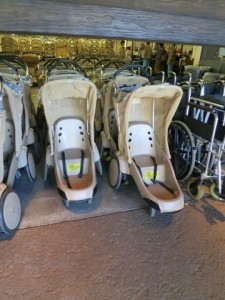 Typical Disney World single stroller rental