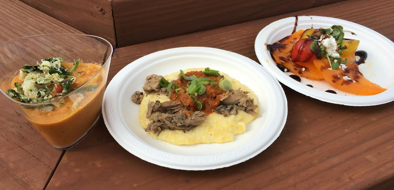 ... Guru : Duck Confit with Creamy Polenta and Fire-Roasted Salsa ($5.25