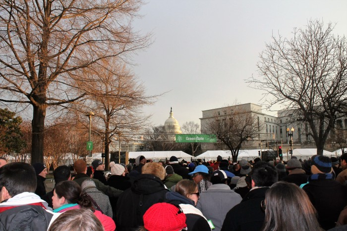 Rope drop Inaugural-Style