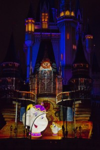 Once Upon a Time Castle Projection Show