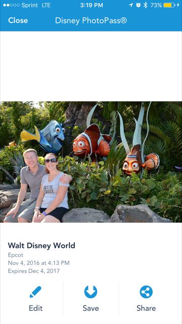 My Disney Experience Photo Editing 1