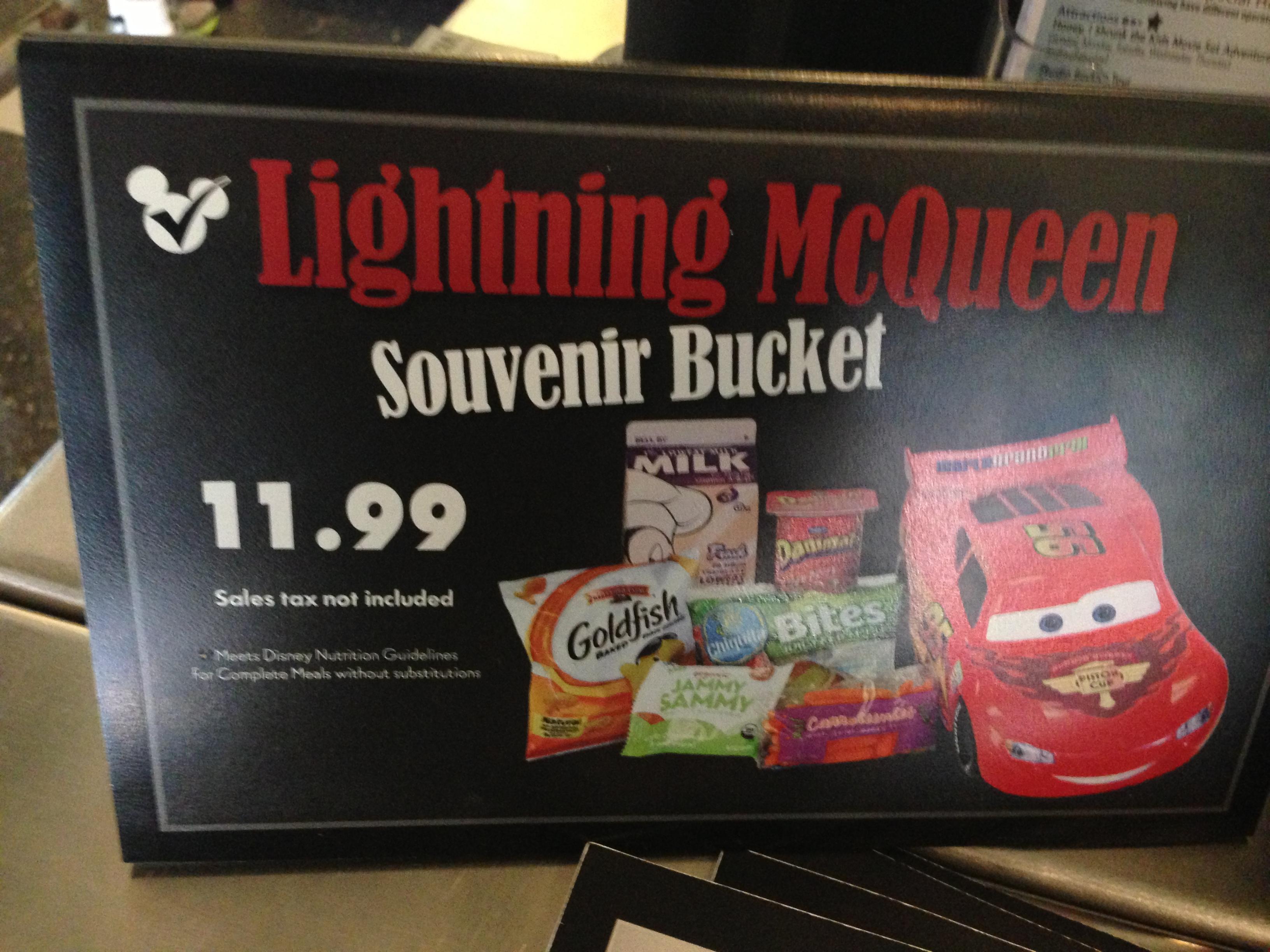 Popcorn Bucket  Lightning Mcqueen Popcorn Bucket 3164bfa7e37