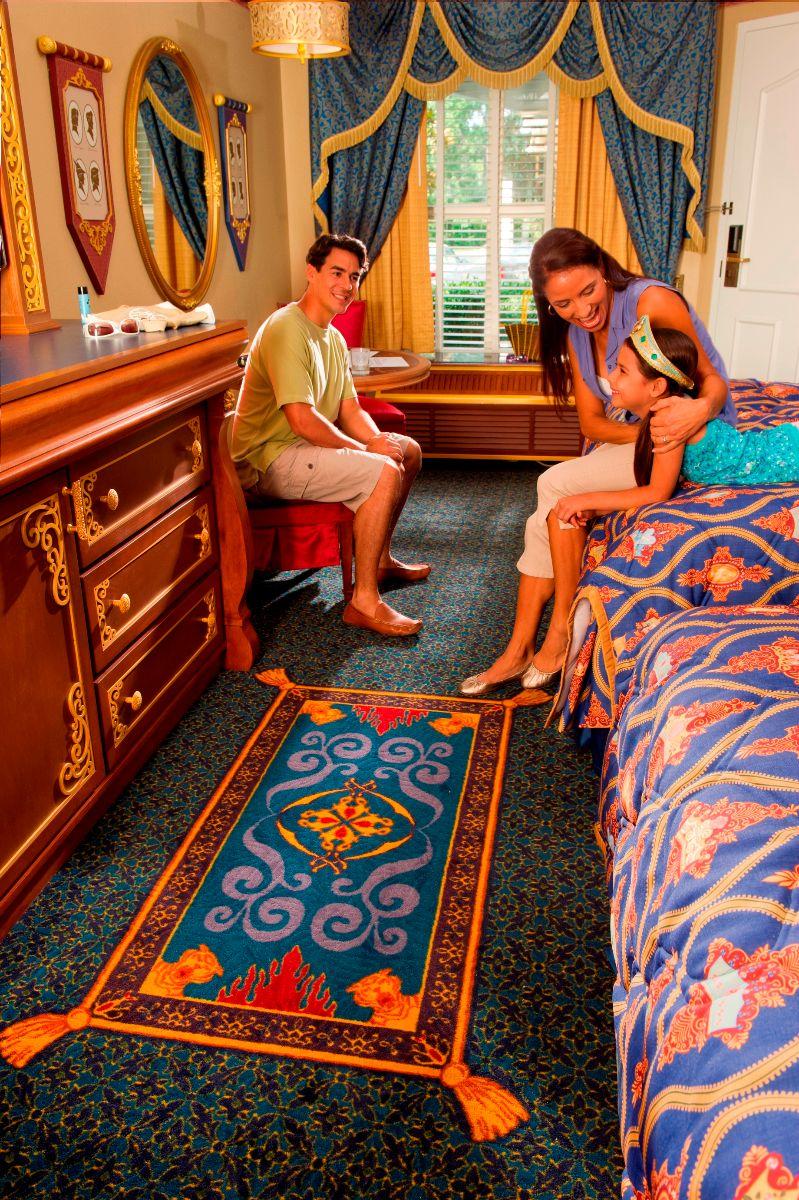 Travel Inspired Guest Room: Port Orleans Riverside Royal Room Review