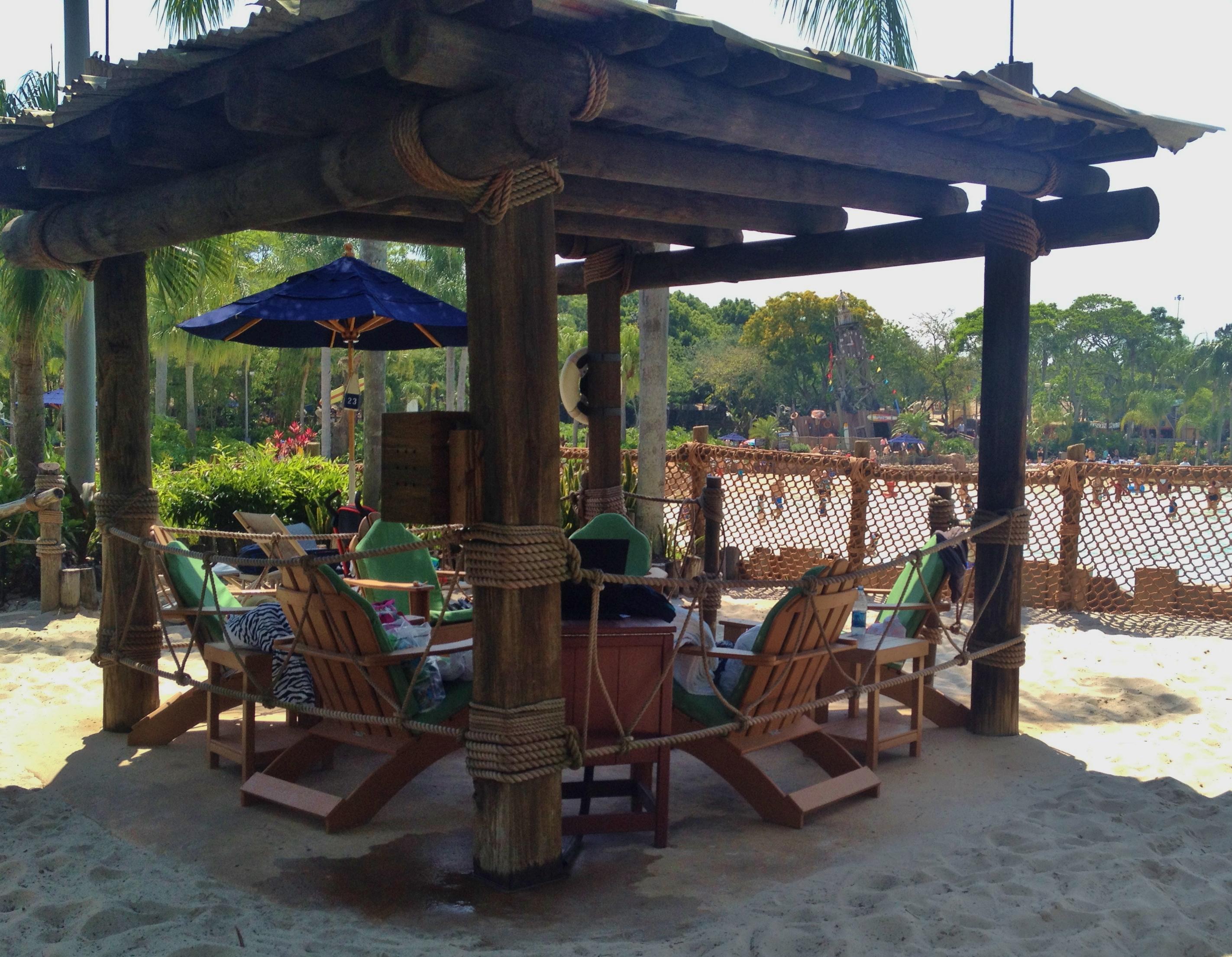 Typhoon Lagoon Cabanas Mixing Luxury And Fun