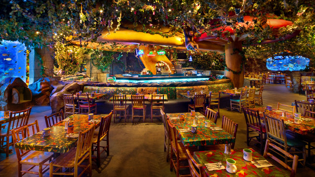 Menu Monday Rainforest Cafe Showdown Touringplans